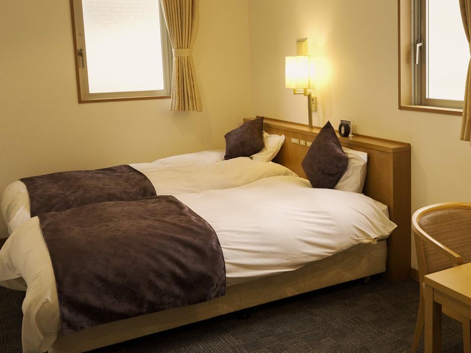 立川のビジネスホテル・ホテルプレジール立川 ツインルーム